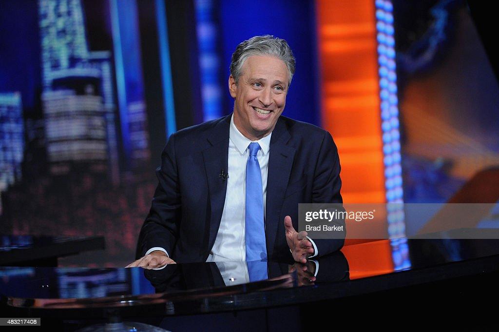 """The Daily Show With Jon Stewart"" #JonVoyage : News Photo"