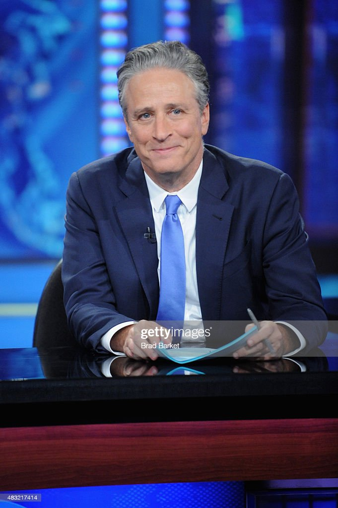 'The Daily Show With Jon Stewart' #JonVoyage : News Photo