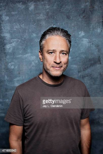 Jon Stewart is photographed for Los Angeles Times on September 8 2014 in Toronto Ontario PUBLISHED IMAGE CREDIT MUST READ Jay L Clendenin/Los Angeles...