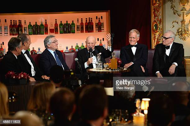 Jon Stewart Jerry Seinfeld Robert De Niro Don Rickles David Letterman and Martin Scorsese attend Spike TV's 'Don Rickles One Night Only' on May 6...