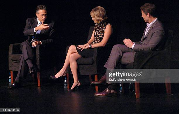 Jon Stewart Kate White editorinchief Cosmopolitan and David Zinczenko editorinchief Men's Health