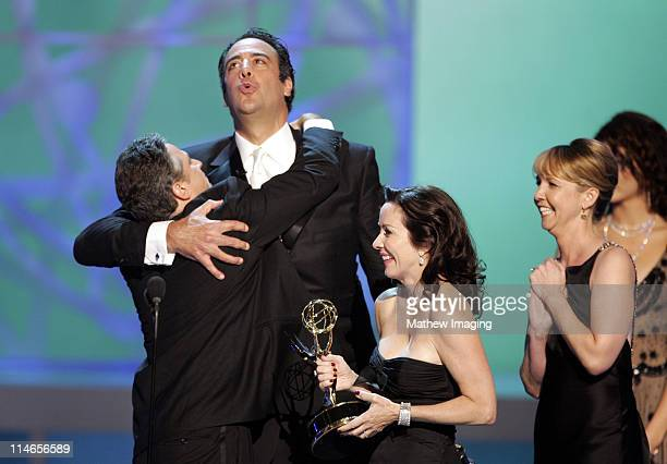 Jon Stewart winner Outstanding Writing of a Variety Music or Comedy Program for 'The Daily Show with Jon Stewart' with Brad Garrett and Patricia...