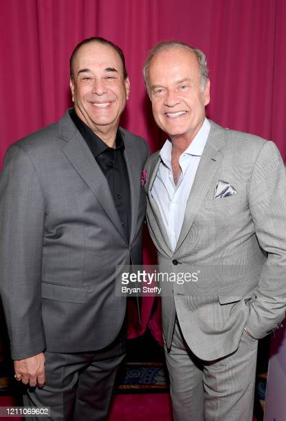 Jon Taffer and Kelsey Grammer attend the 24th annual Keep Memory Alive 'Power of Love Gala' benefit for the Cleveland Clinic Lou Ruvo Center for...