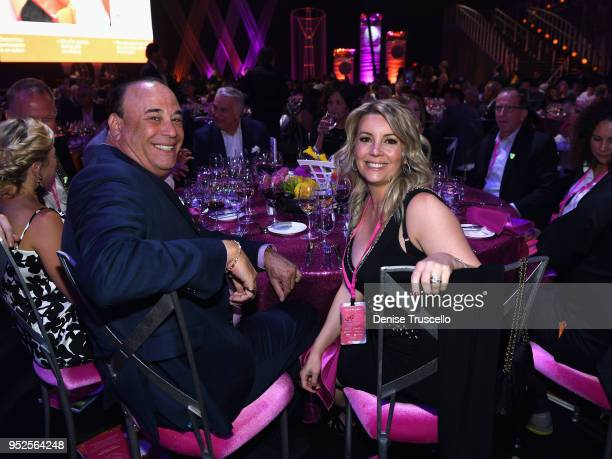 Jon Taffer and Nicole Taffer attend the 22nd annual Keep Memory Alive 'Power of Love Gala' benefit for the Cleveland Clinic Lou Ruvo Center for Brain...