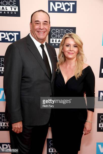 Jon Taffer and Nicole Taffer attend the Critics' Choice Real TV Awards at The Beverly Hilton Hotel on June 02 2019 in Beverly Hills California