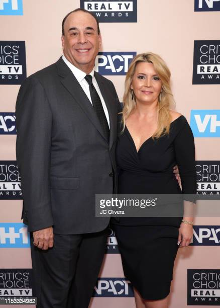 Jon Taffer and Nicole Taffer attend the Critics' Choice Real TV Awards on June 02 2019 in Beverly Hills California
