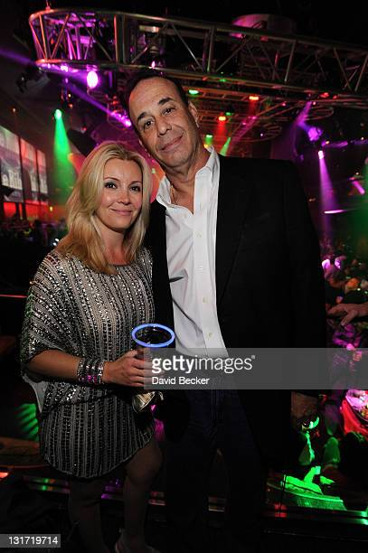 Jon Taffer President Nightclub Bar Media Group and Nicole Taffer appear at the 26th Annual Nightclub Bar Convention and Trade Show's Show and Glow...