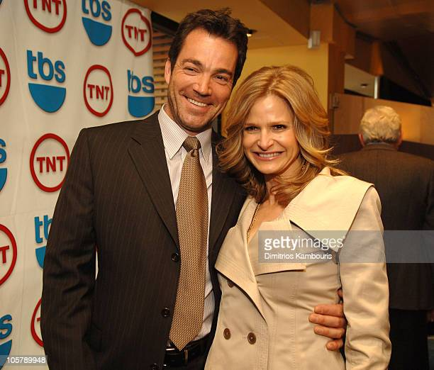 Jon Tenney and Kyra Sedgwick 11063_295JPG during 2006/2007 TBS and TNT UpFront Nick and Stef's at Nick and Stef's in New York City New York United...