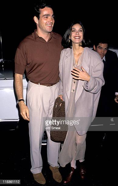 Jon Tenney and Teri Hatcher during Network Advertiser Cocktail Party at Westbury Hotel in New York City New York United States