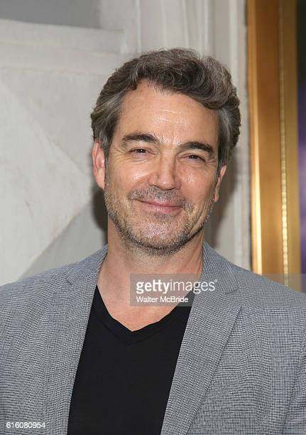 Jon Tenney attend the Broadway Opening Night performance of The Front Page at the Broadhurst Theatre on October 20 2016 in New York City