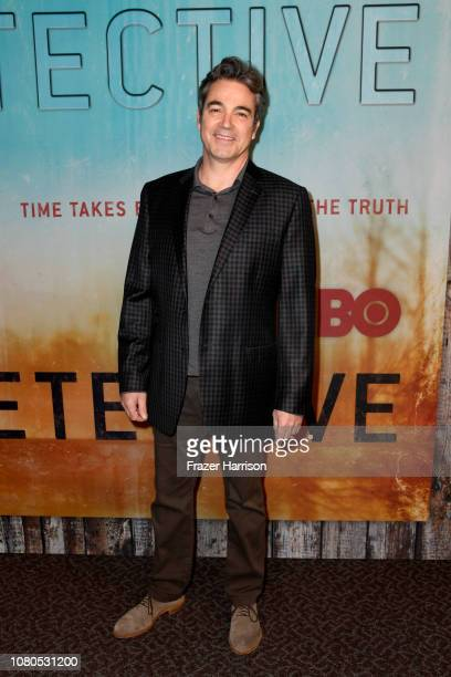 Jon Tenney attends the premiere of HBO's 'True Detective' Season 3 at Directors Guild Of America on January 10 2019 in Los Angeles California