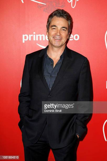 Jon Tenney attends the premiere of the Amazon Prime Video web TV series 'The Romanoffs' at the Russian Tea Room on October 11 2018 in New York City