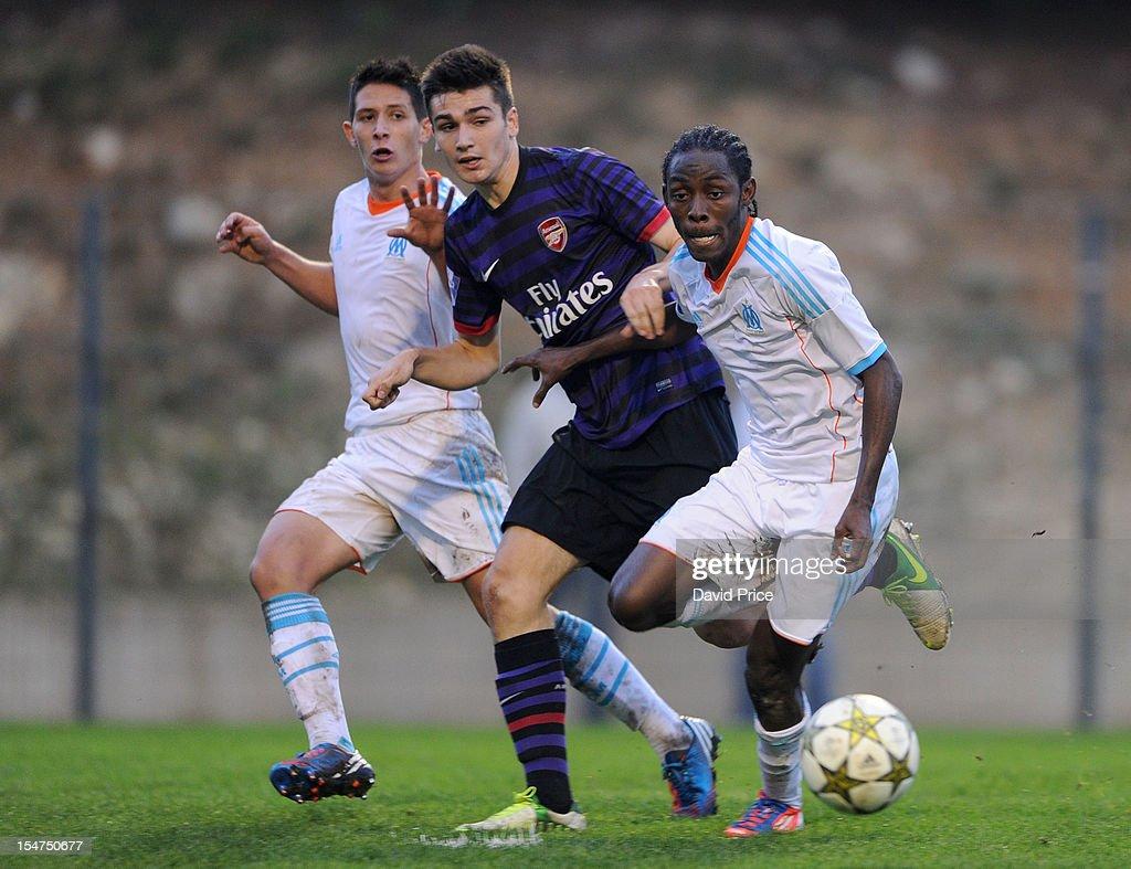 Marseille v Arsenal - NextGen Series, Group 6 : News Photo