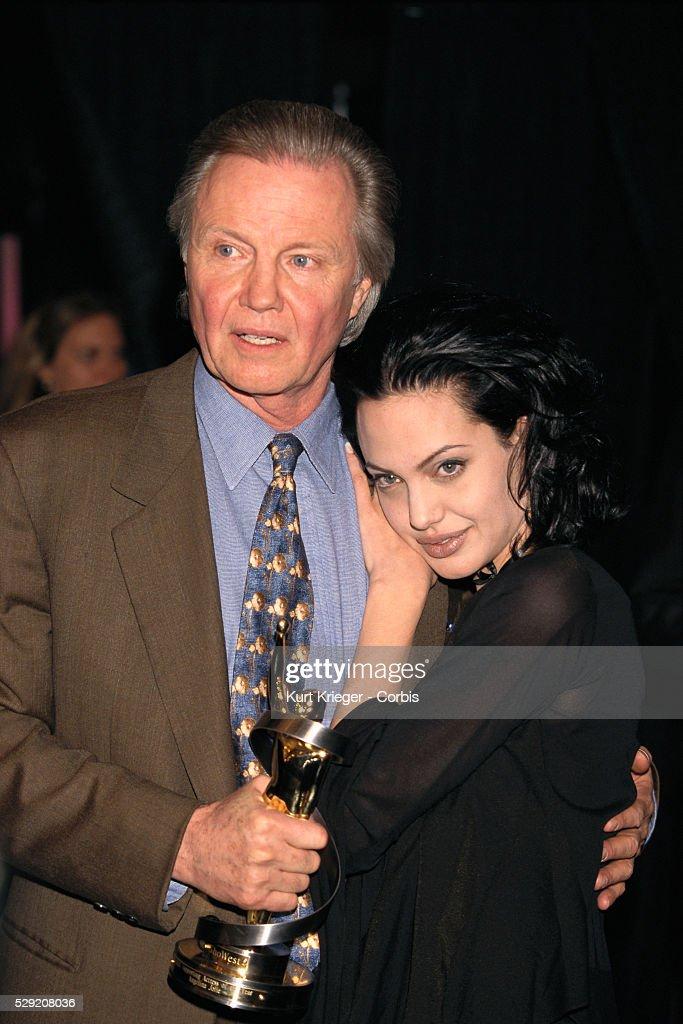 Jon Voight and Daughter Angelina Jolie : News Photo