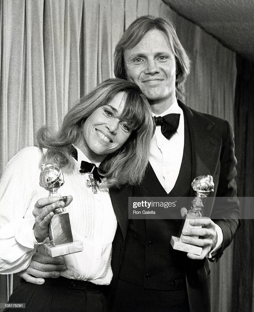 Jon Voight and Jane Fonda during 36th Annual Golden Globe Awards at Beverly Hilton Hotel in Beverly Hills, California, United States.