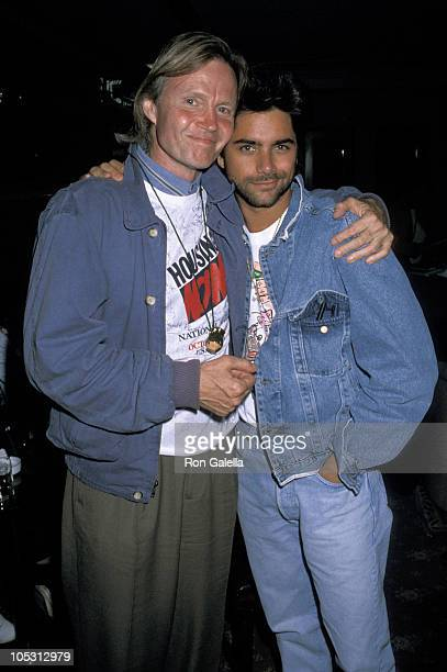 Jon Voight and John Stamos during Housing Now Rally October 7 1989 at US Capital in Washington DC United States