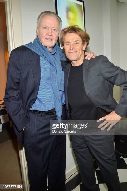 Jon Voight and Willem Dafoe attend W Magazine Celebrates Its 'Best Performances' Portfolio and the Golden Globes with Audi and Giorgio Armani Beauty...
