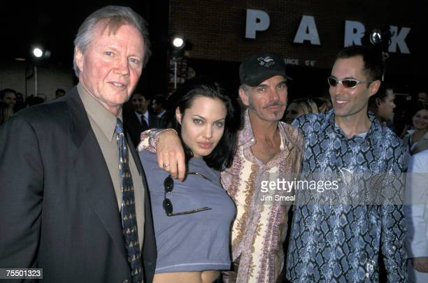 Jon Voight Angelina Jolie Billy Bob Thornton and Jamie Haven at the National Theater in Westwood California
