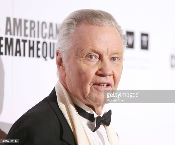 Jon Voight arrives at the 27th American Cinematheque Award honoring Jerry Bruckheimer held at The Beverly Hilton Hotel on December 12 2013 in Beverly...