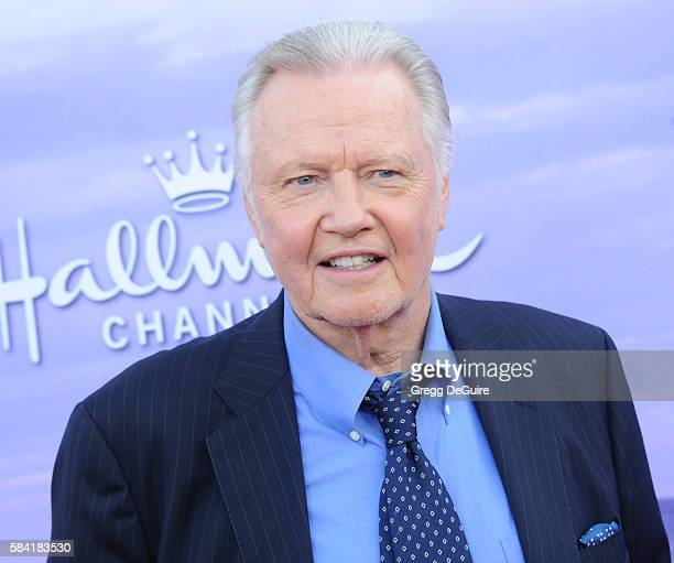 Jon Voight arrives at the Hallmark Channel and Hallmark Movies and Mysteries Summer 2016 TCA Press Tour Event on July 27 2016 in Beverly Hills...