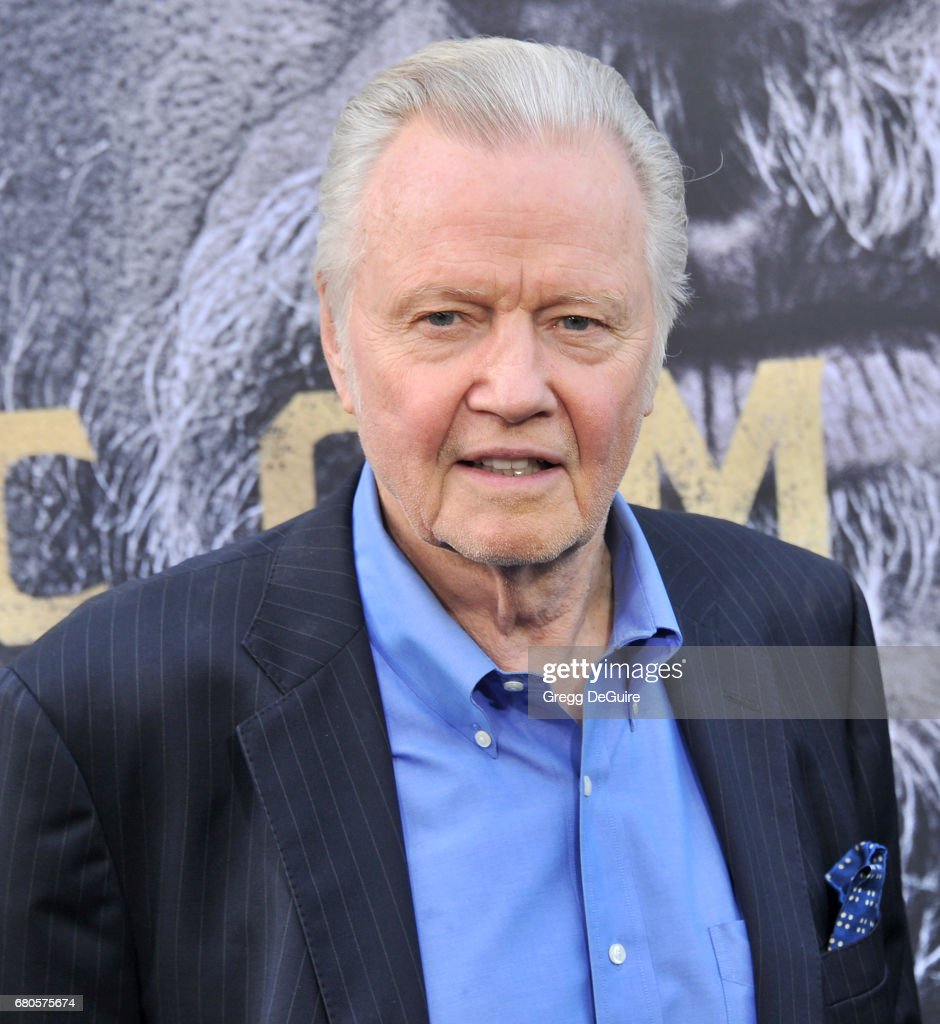 Jon Voight arrives at the premiere of Warner Bros. Pictures' 'King Arthur: Legend Of The Sword' at TCL Chinese Theatre on May 8, 2017 in Hollywood, California.