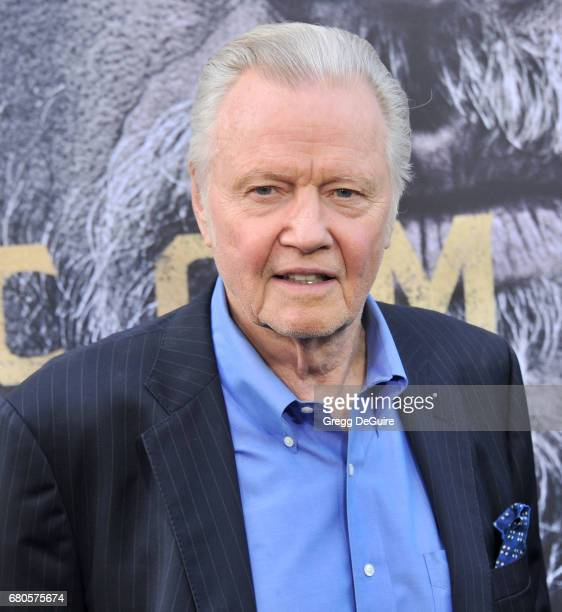Jon Voight arrives at the premiere of Warner Bros Pictures' King Arthur Legend Of The Sword at TCL Chinese Theatre on May 8 2017 in Hollywood...