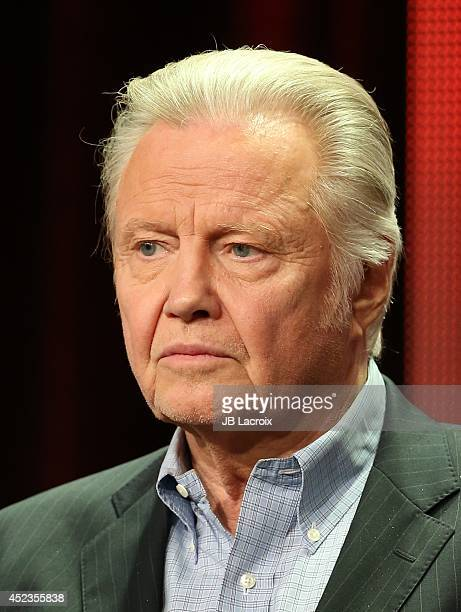 Jon Voight attends the 2014 Summer Television Critics Association at The Beverly Hilton Hotel on July 18 2014 in Beverly Hills California