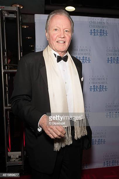 Jon Voight attends the Children At Heart gala dinner and celebrity fantasy auction at Pier Sixty at Chelsea Piers on November 25 2013 in New York City