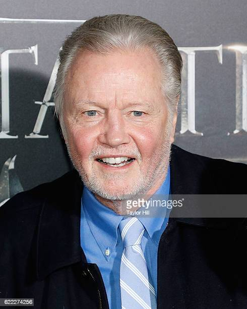 Jon Voight attends the premiere of 'Fantastic Beasts and Where to Find Them' at Alice Tully Hall Lincoln Center on November 10 2016 in New York City