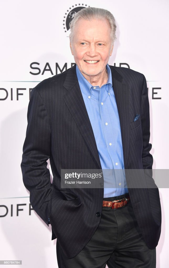 Jon Voight attends the Premiere Of Paramount Pictures And Pure Flix Entertainment's 'Same Kind Of Different As Me' at Westwood Village Theatre on October 12, 2017 in Westwood, California.