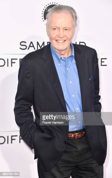 """Jon Voight attends the Premiere Of Paramount Pictures And Pure Flix Entertainment's """"Same Kind Of Different As Me"""" at Westwood Village Theatre on..."""