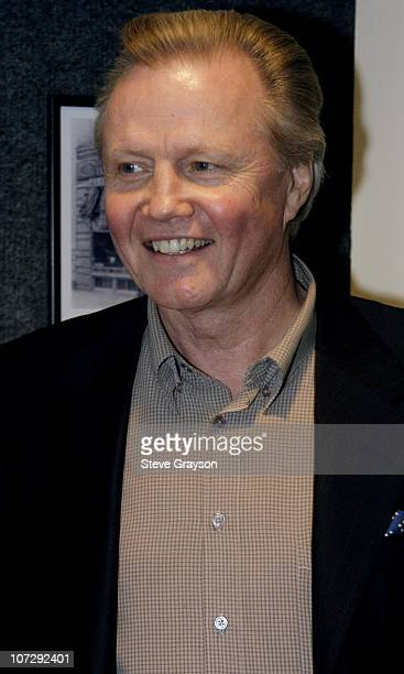 Jon Voight during Renee Taylor's OneWoman Stage Portrait An Evening With Golda Meir Premiere Engagement at The Canon Theater in Beverly Hills...