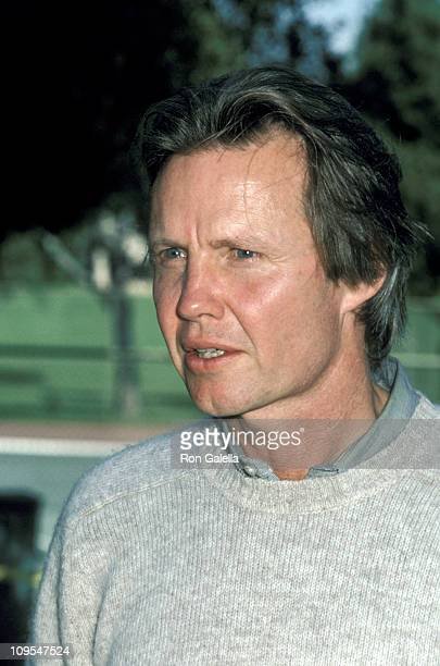 Jon Voight during 'Save the Navajo Indians' Press Conference at Griffin Park in Los Angeles California United States