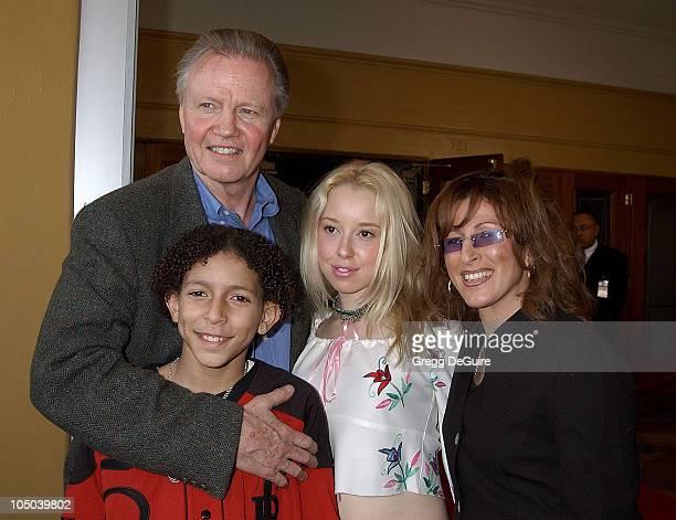 Jon Voight Khleo Thomas Skyler Shay and Raquel Thomas