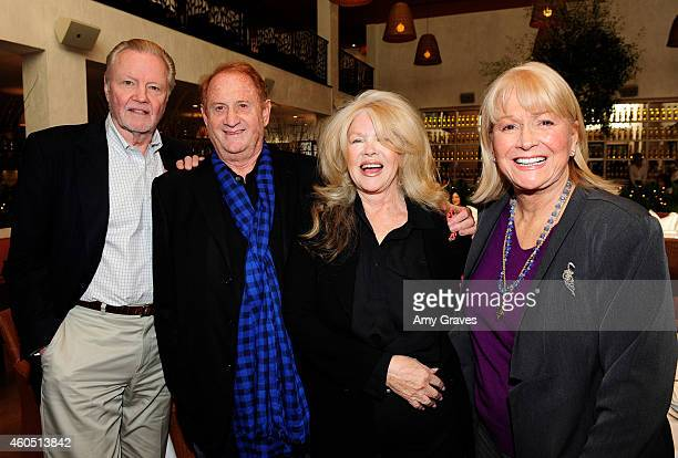 Jon Voight Mike Medavoy Connie Stevens and Diane Ladd attend a special luncheon for Kevin Costner and Mike Binder hosted by Colleen Camp for the film...