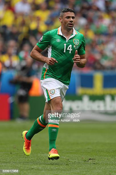 Jon Walters of Republic of Ireland during the UEFA EURO 2016 Group E match between Republic of Ireland and Sweden at Stade de France on June 13 2016...