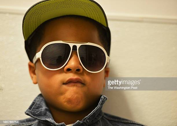 Jon Webster of Burtonsville Maryland waits backstage to walk on the runway He joins over a dozen children showcase their talents in the 3rd Annual...