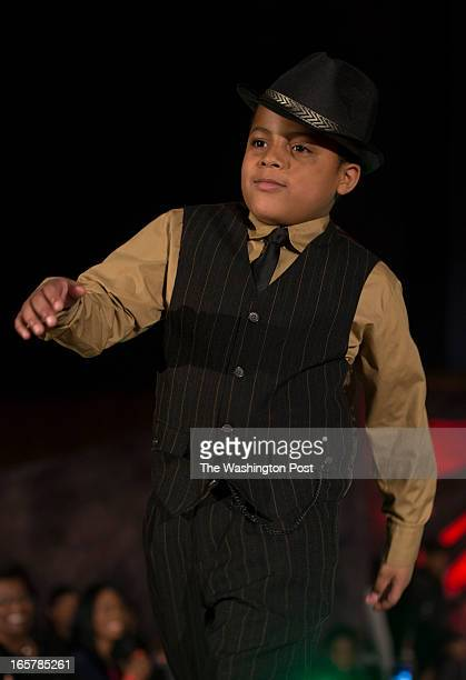 Jon Webster of Burtonsville Maryland walking on the runway He joins over a dozen children showcase their talents in the 3rd Annual Glynn Jackson's...