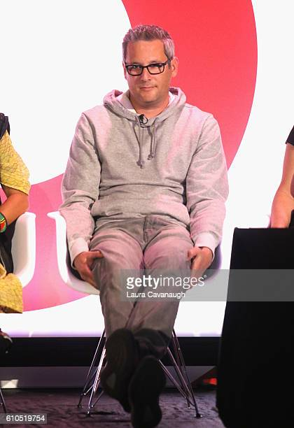 Jon Wexler speaks onstage during the It's Not About You A Discussion About Authenticity in Influencer Marketing panel in BB King at 2016 Advertising...