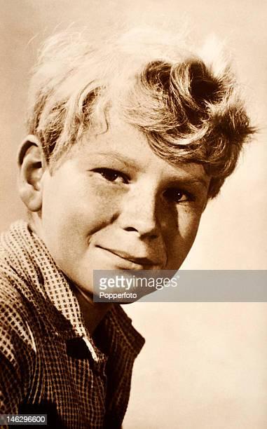 Jon Whiteley Scottish child actor circa 1954