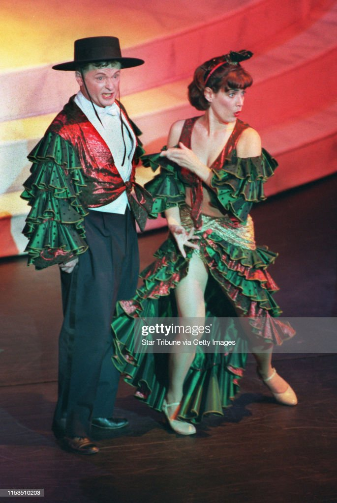 Jon Whittier As Andrew Carnes And Teri Brown As Ado Annie Carnes News Photo Getty Images