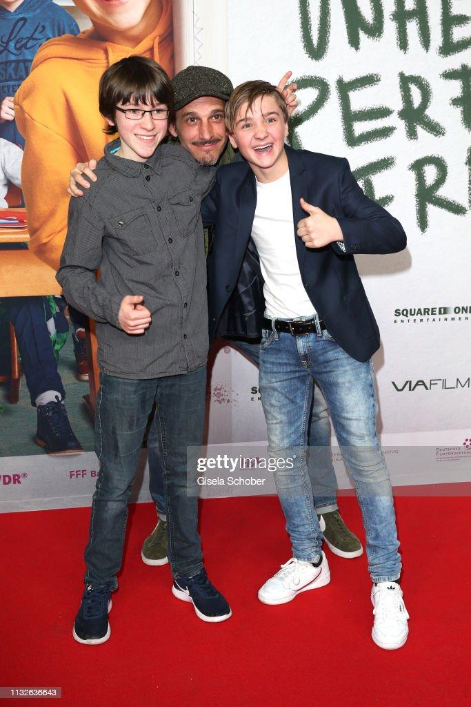 """DEU: """"Unheimlich Perfekte Freunde"""" Premiere In Munich"""
