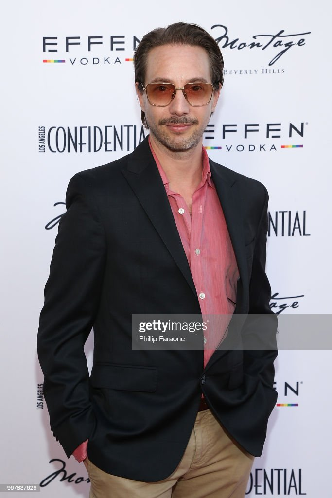 Jonah Blechman attends the Los Angeles Confidential Celebration for Portraits of Pride with GLAAD and Laverne Cox on June 4, 2018 in Beverly Hills, California.