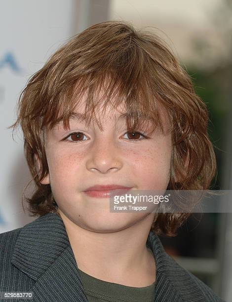 Jonah Bobo arrives at the premiere of Zathura held at Mann Village Theater