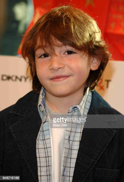 Jonah Bobo at the RxArt Coloring Book Launch held at DKNY Madison Ave New York City BRIAN ZAK