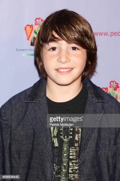 Jonah Bobo attends Elizabeth Glaser Pediatric AIDS Foundation Kids for Kids Carnival at Industria Superstudio on October 24 2009 in New York City