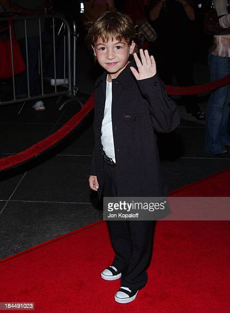 Jonah Bobo during Around The Bend Los Angeles Premiere Arrivals at Directors Guild of America in Los Angeles California United States