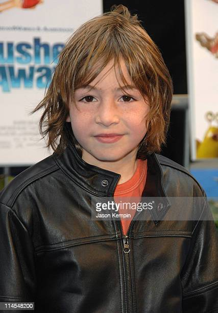 Jonah Bobo during Flushed Away New York City Premiere Arrivals at AMC Lincoln Square in New York City New York United States