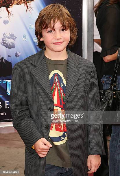 Jonah Bobo during Zathura Los Angeles Premiere Arrivals at Mann's Village Theatre in Westwood California United States