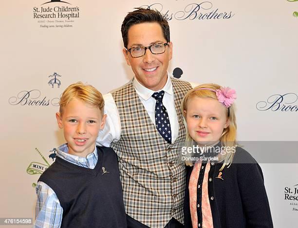 Jonah Bucatinsky actor Dan Bucatinsky and Eliza Bucatinsky attend Brooks Brothers MINI CLASSIC Golf Tournament to benefit St Jude Children's Research...